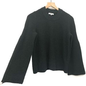 Madewell Green & Black Thick Sweater - Size S